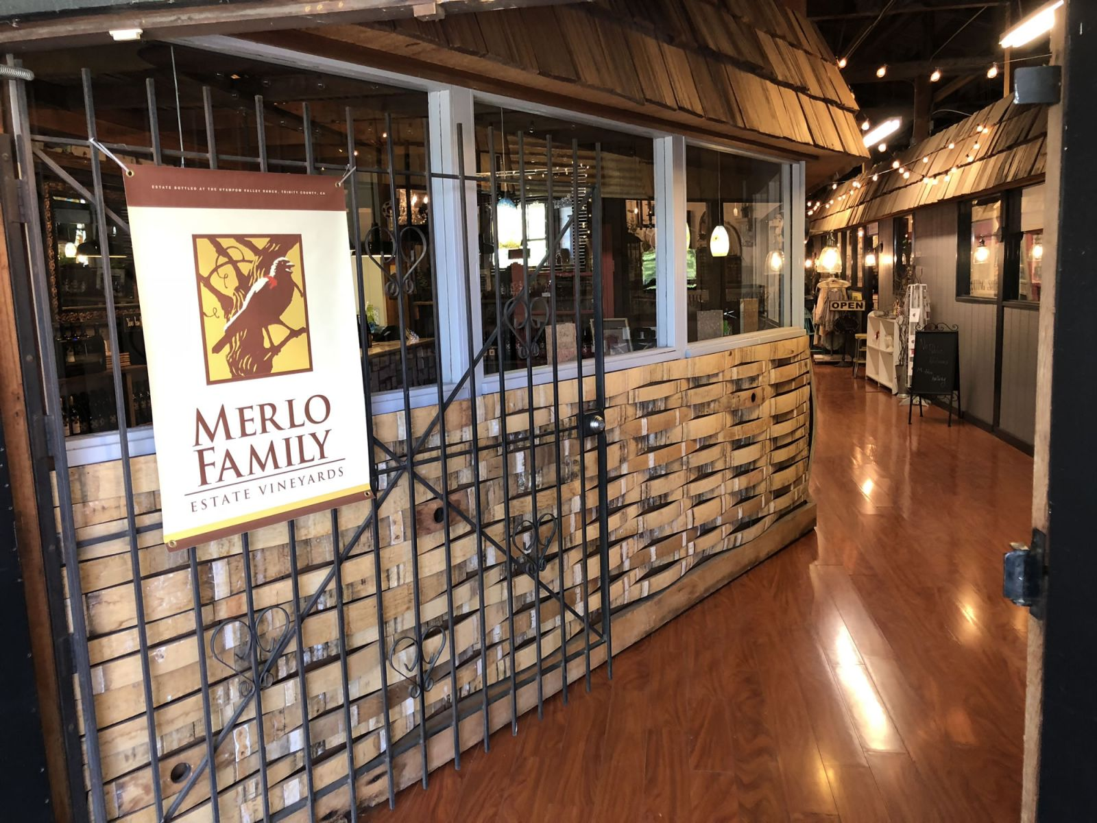 Merlo Vineyards Tasting Room